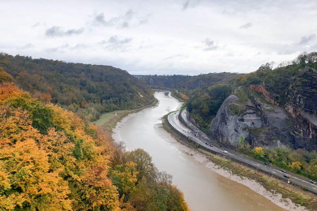 River Avon in Autumn