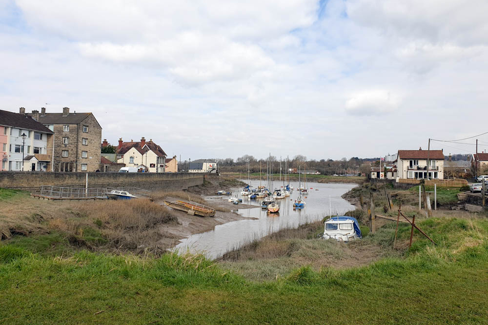 Pill near Bristol, on the River Avon