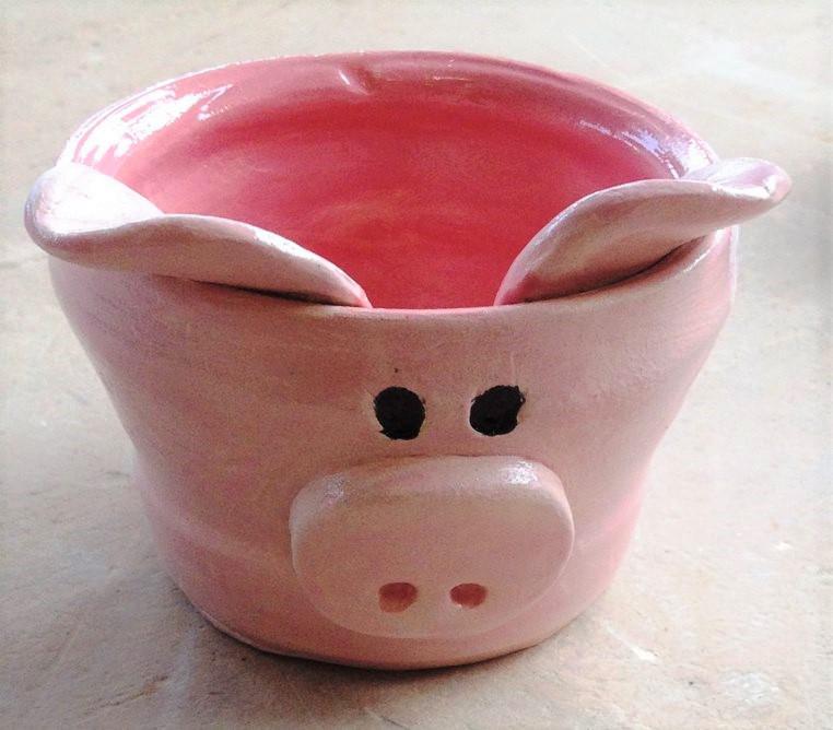 Tarka Pottery pot