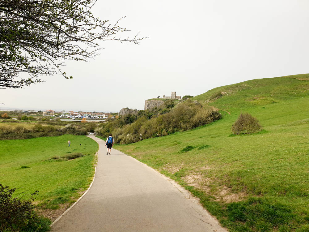 Walking in Uphill Nature Reserve