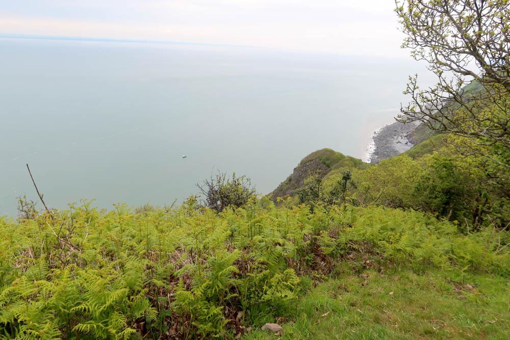 Dramatic cliff views