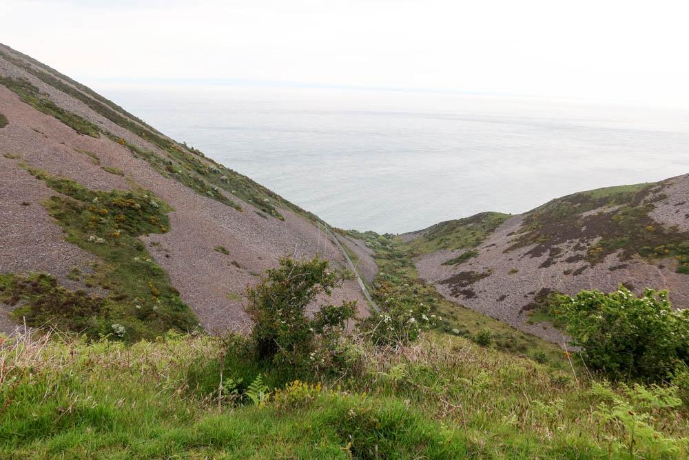 Steep hills on Porlock to Lynmouth hike