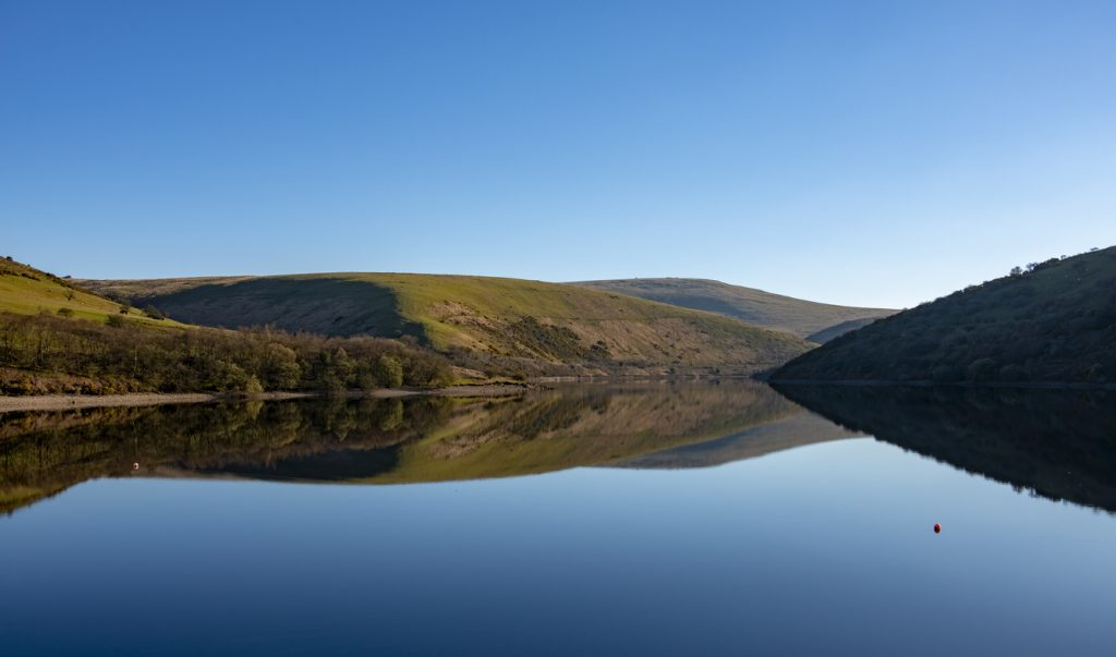Meldon Reservoir near Okehampton was opened in 1972 and formed by the damming of the West Okement River