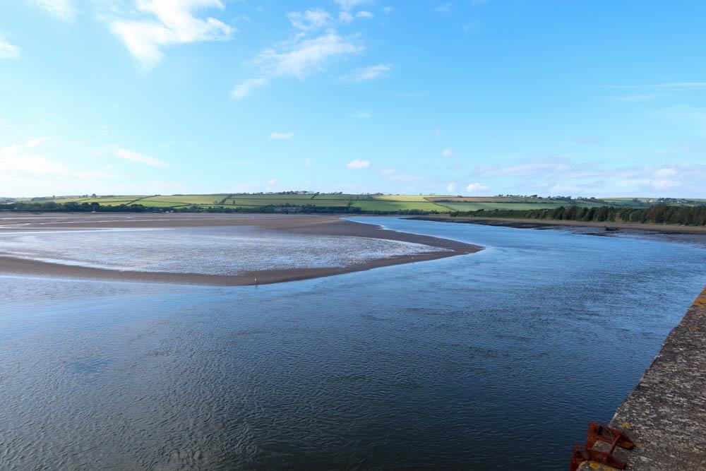 Beautiful Devon meadows over the River Taw
