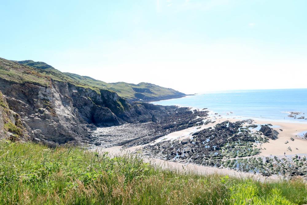 Beautiful beach near Mortehoe and Morte Point