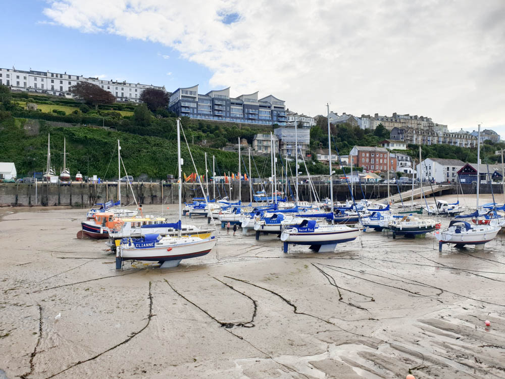Boats in Ilfracombe