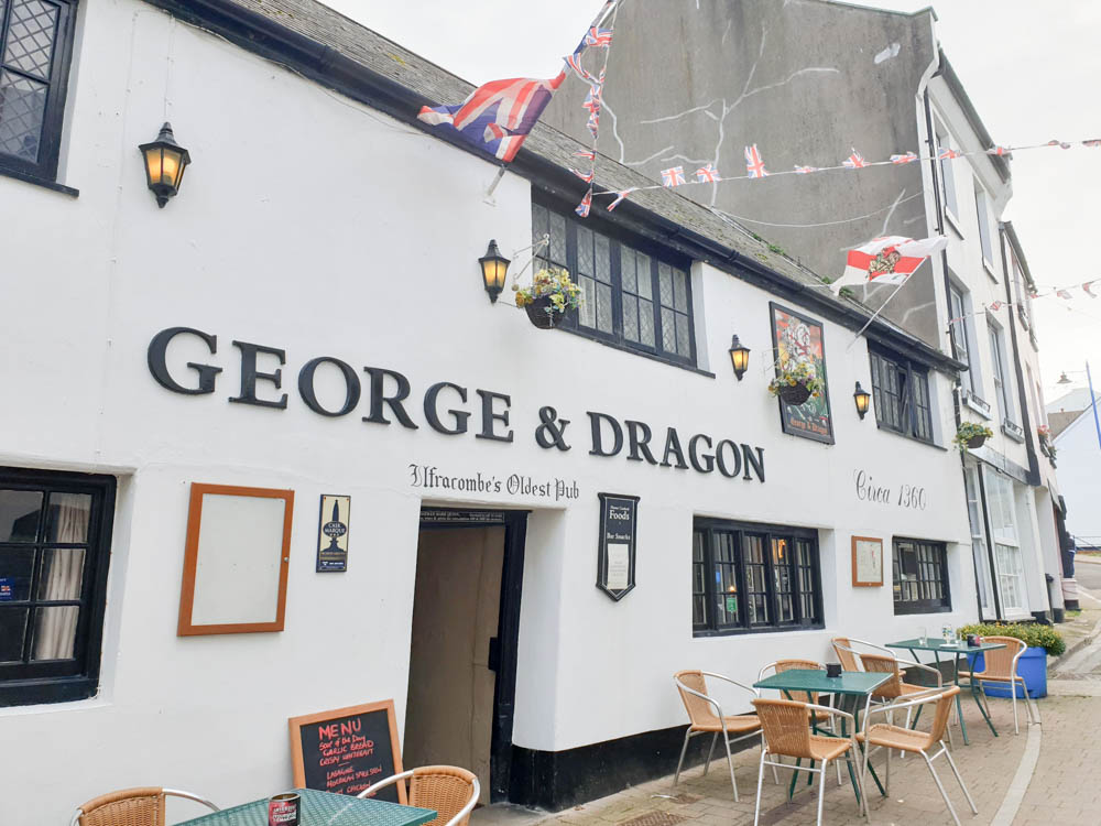 George and Dragon oldest pub in Ilfracombe