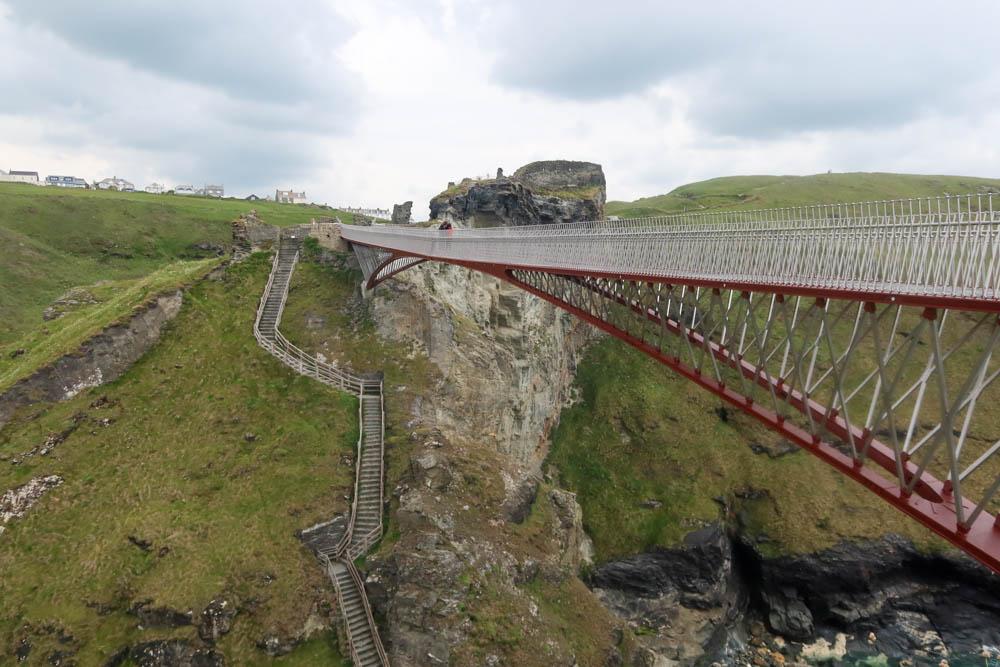 Tintagel bridge near Tintagel Castle