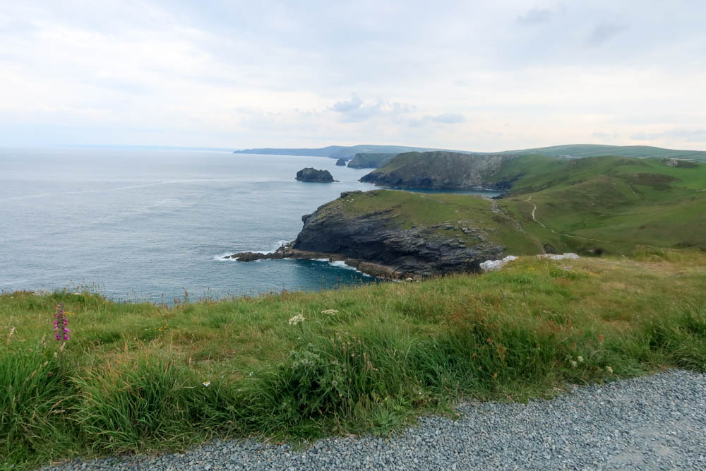 view of coast from Tintagel
