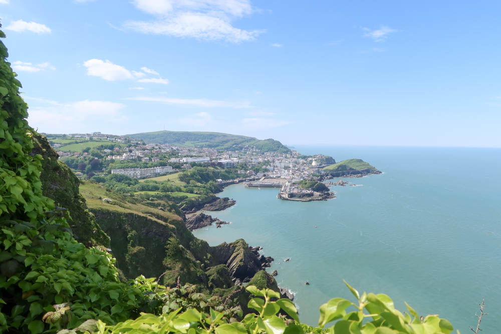 Ilfracombe from a look out point