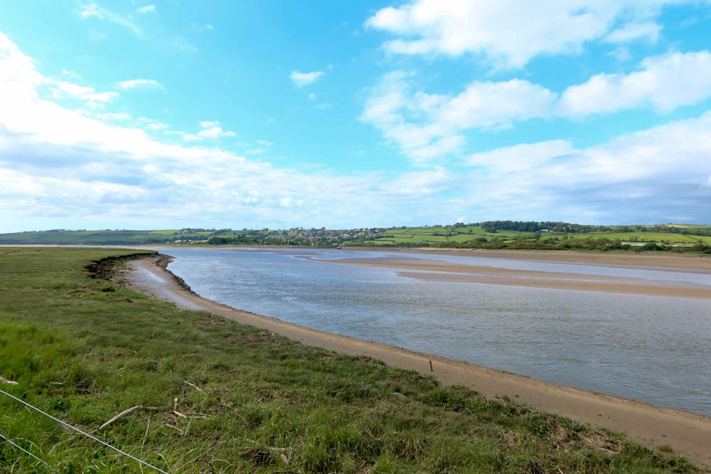 River with Braunton in the background