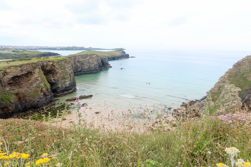 Whipsiderry Beach, one of the best beaches near Newquay
