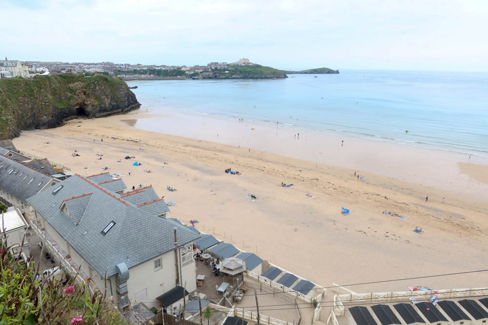 Tolcarne Beach in Newquay, Cornwall