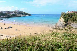 View of Towan beach
