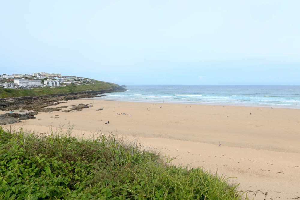 View of Fistral Beach along the SWCP
