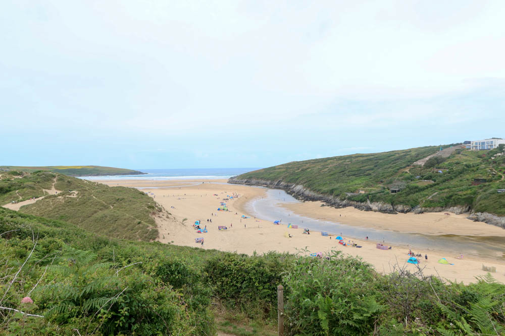 Poly Joke Beach, one of the best beaches in Newquay