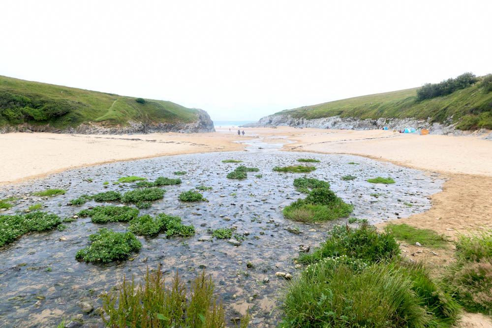 Holywell Bay, one of the best beaches near Newquay, Cornwall