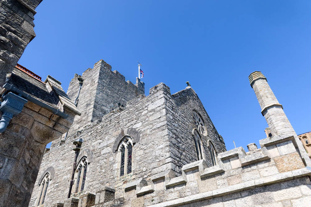 Close up of St Micheal's Mount