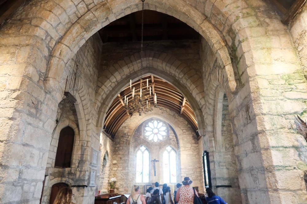 Church at St Michael's Mount