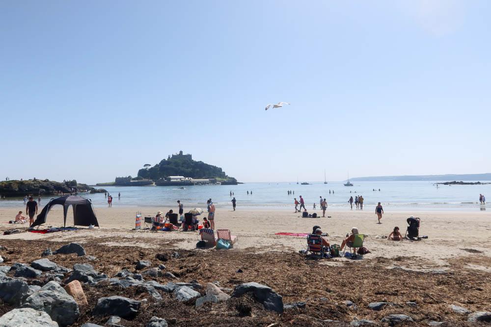 St Michael's Mount beach
