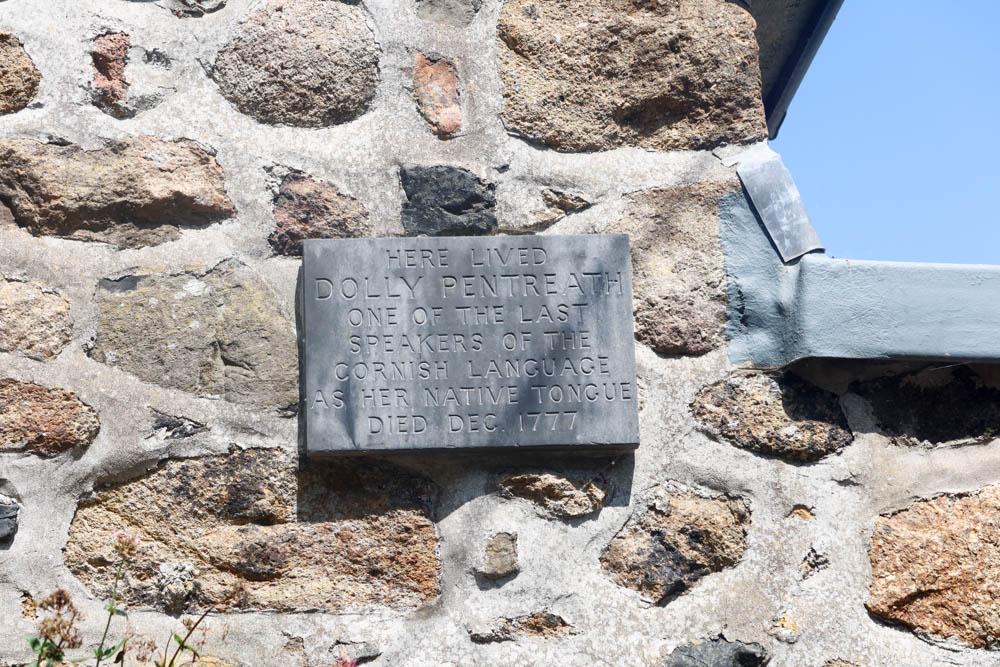 Dolly Pentreath memorial