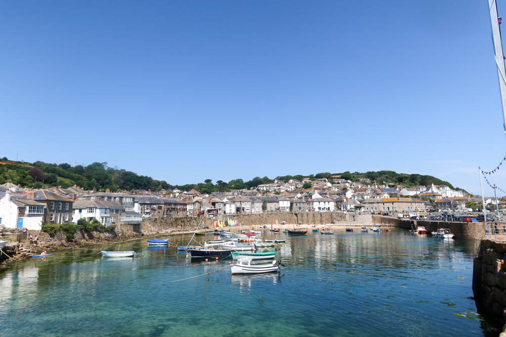Mousehole in West Cornwall