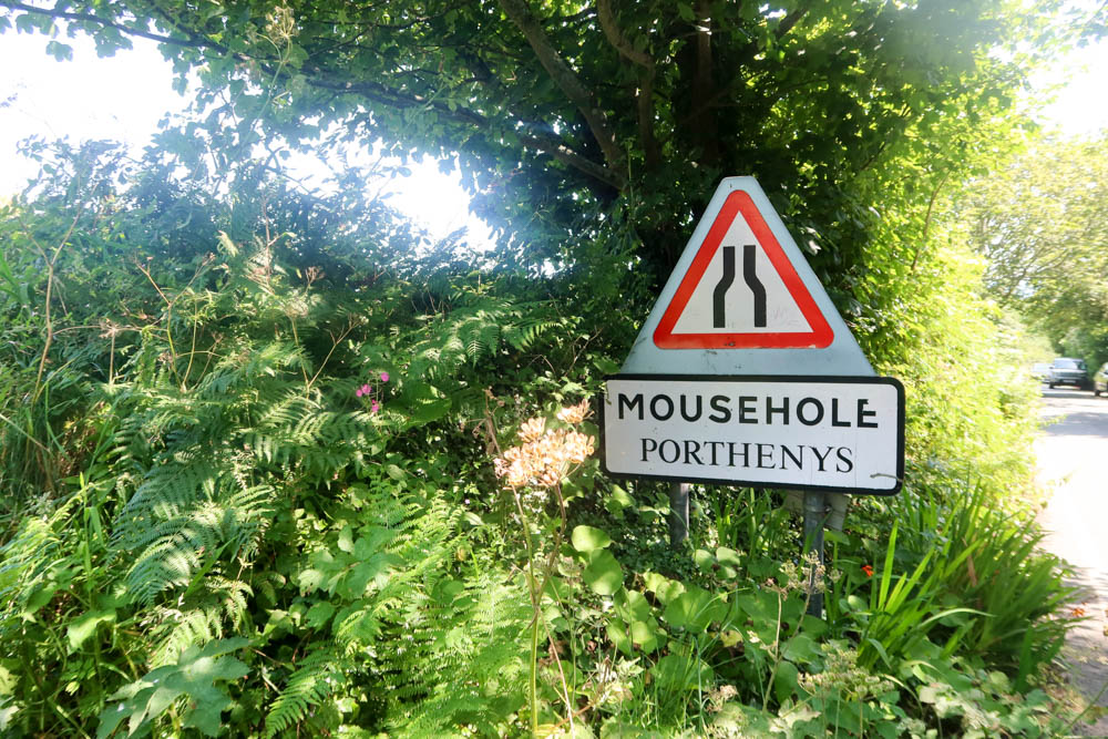 Mousehole sign to get into the village