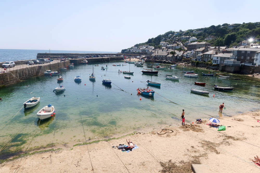 View of Mousehole Harbour