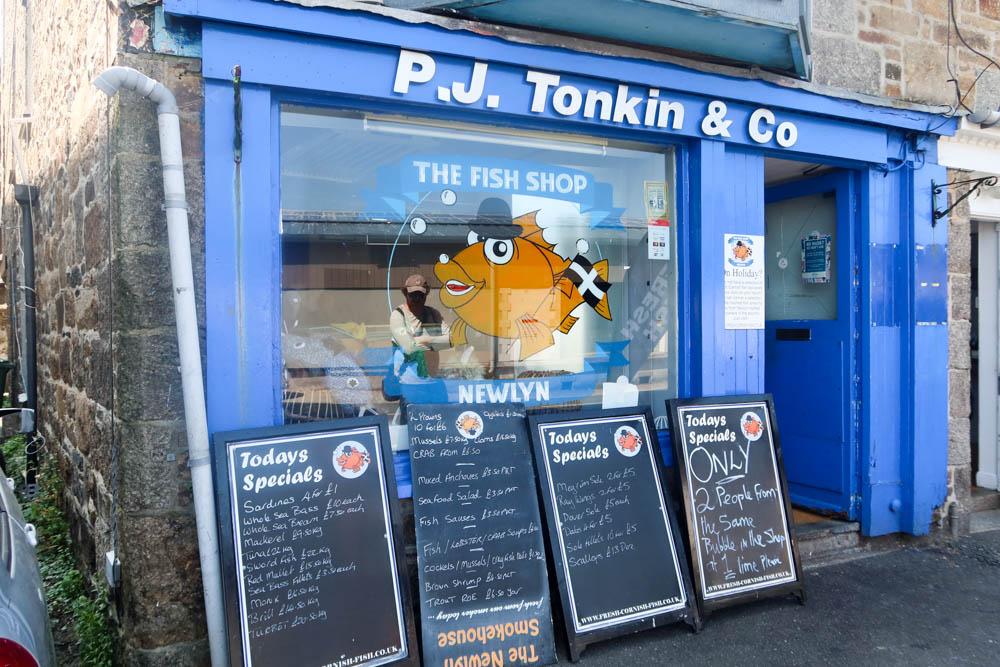 Seafood in Newlyn