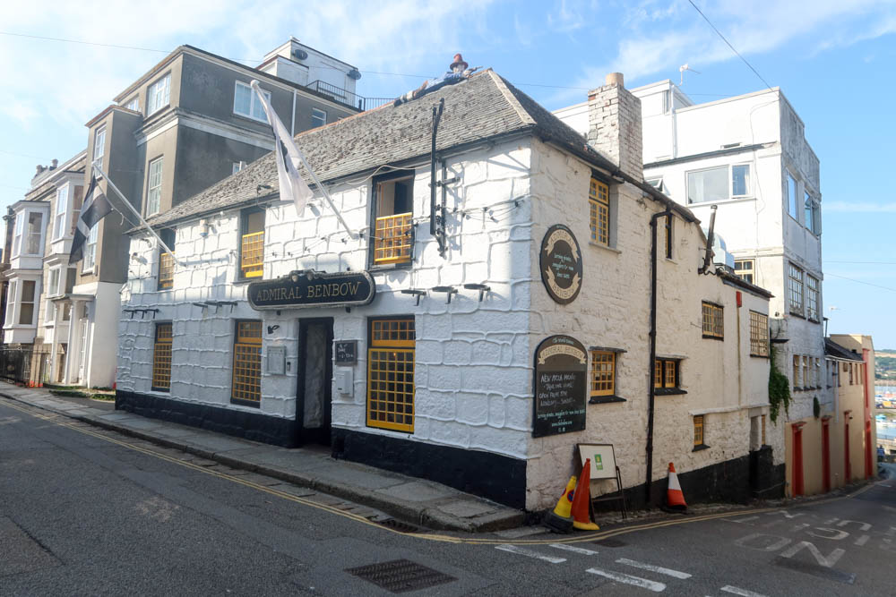 Admiral Benbow in Penzance