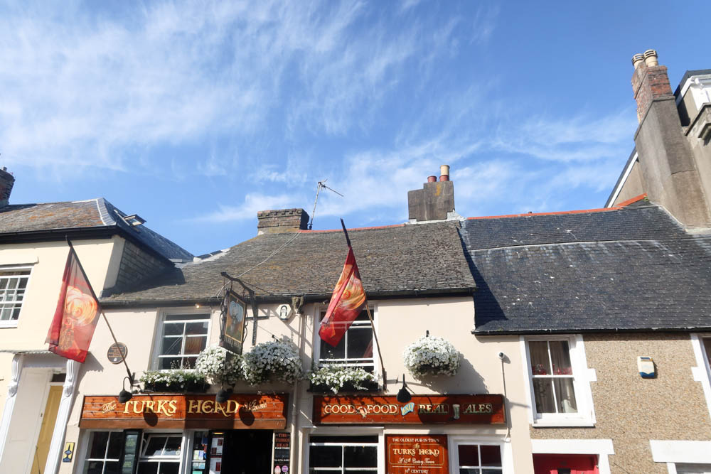 Turks Head oldest pub in Penzance