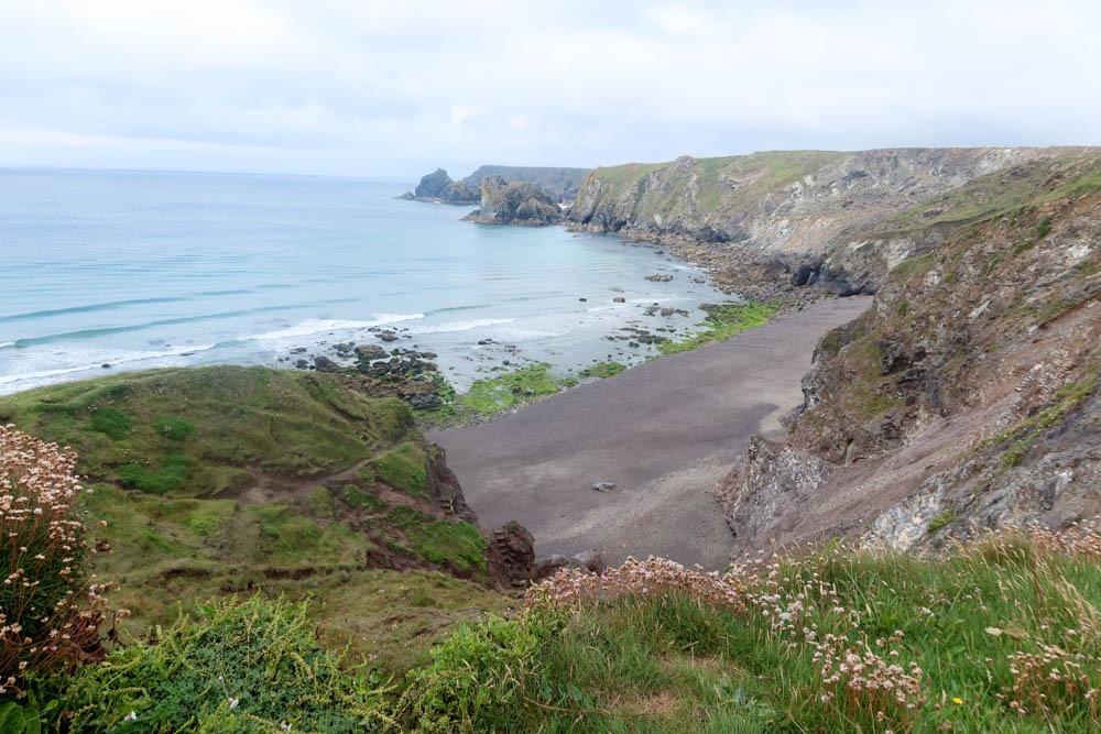 South West Coast Path on the Lizard