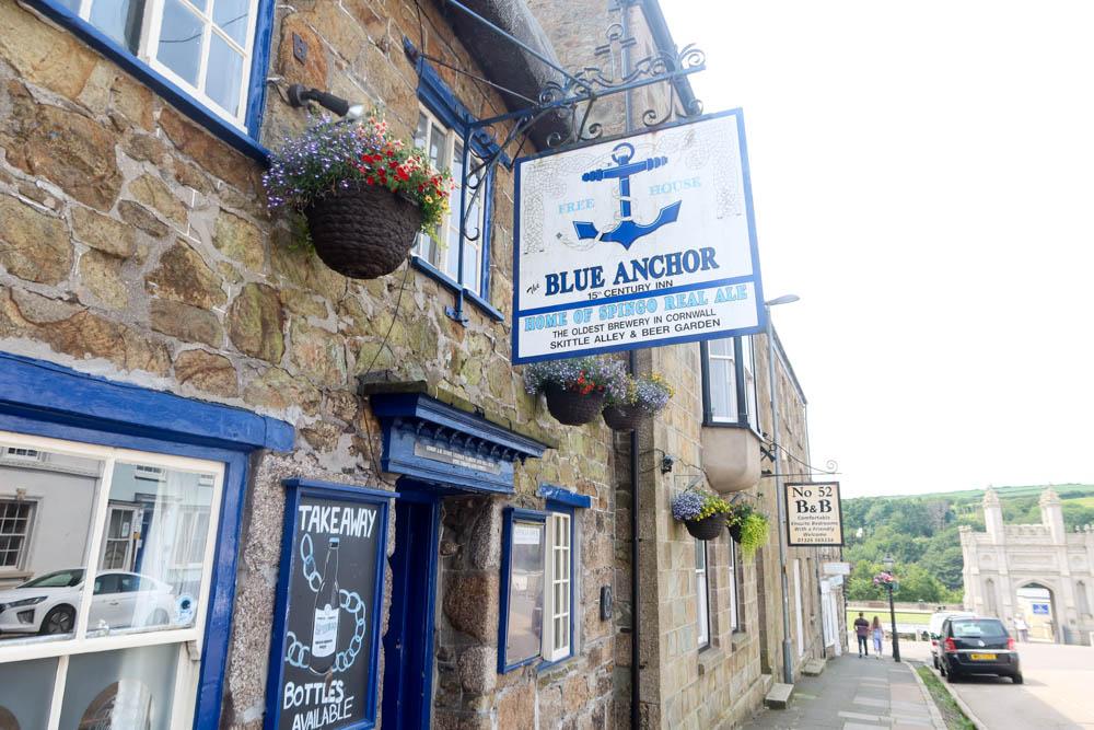 Blue Anchor Pub Helston