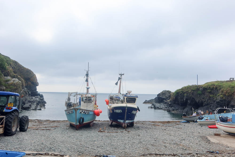 Picturesque Cagdwith Cove on the Lizard Peninsula
