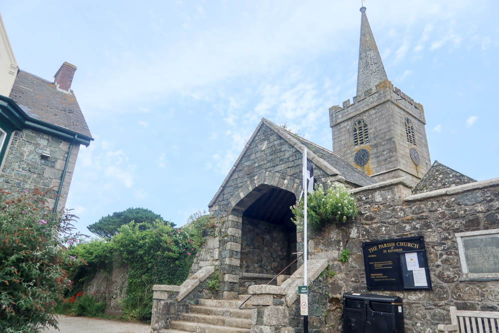St Keverne Church on the Lizard