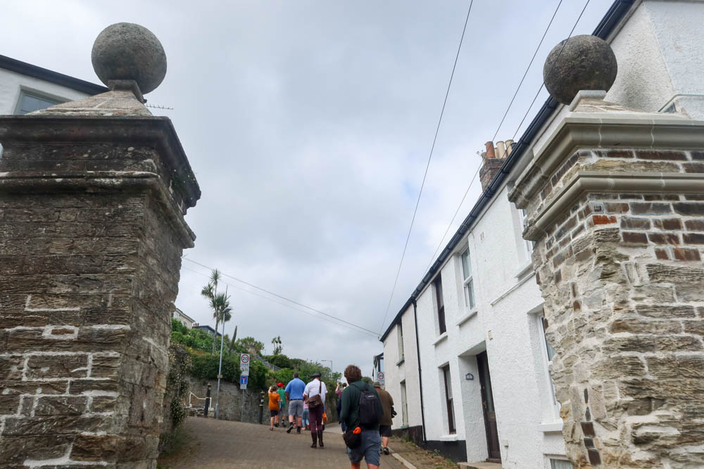 Walking tour around Falmouth