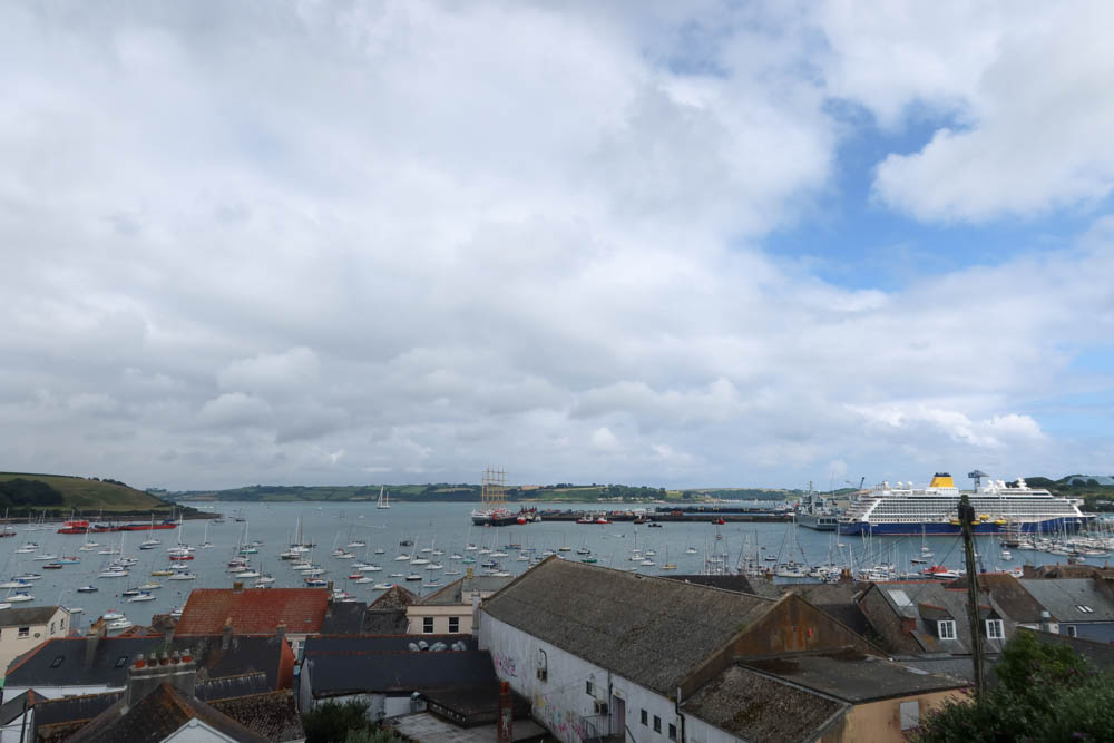 View over Falmouth