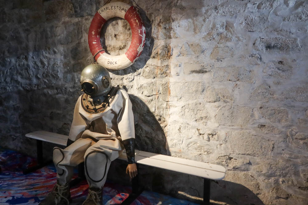 Inside the Shipwreck treasure museum