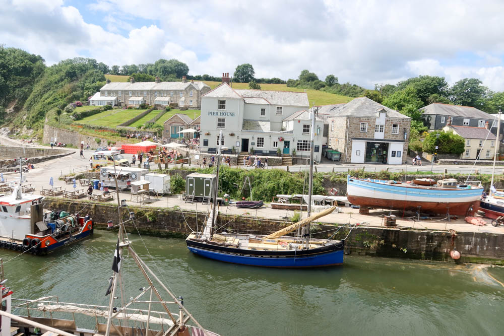 View of Charlestown Harbour