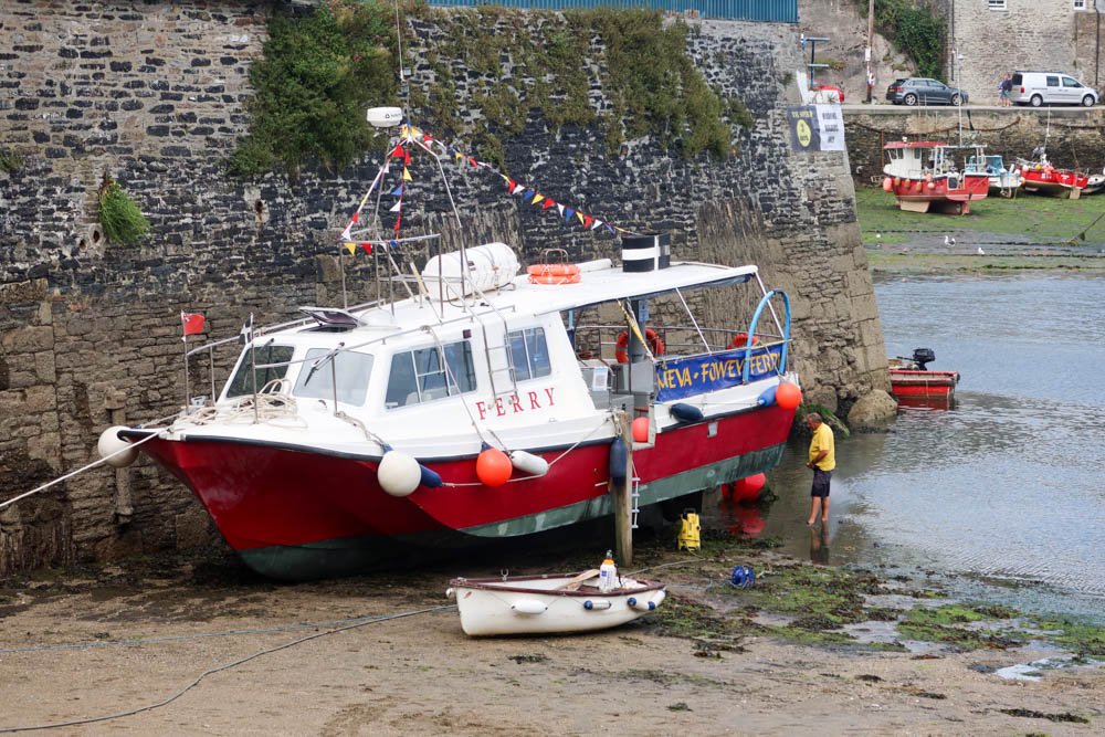 Mevagissey to Fowey Boat Trip