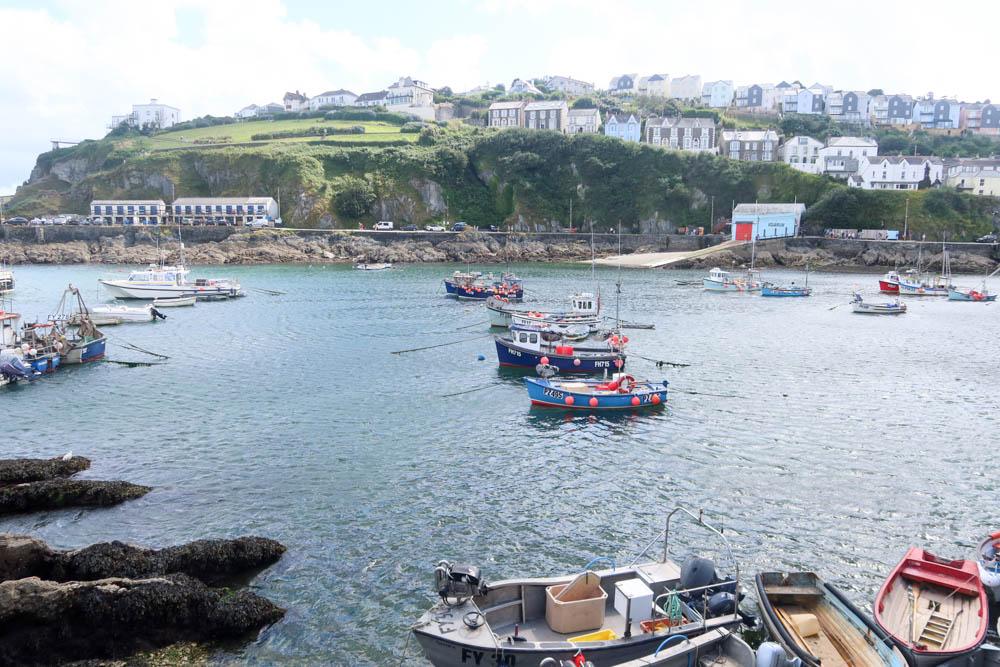 Picturesque Mevagissey Harbour