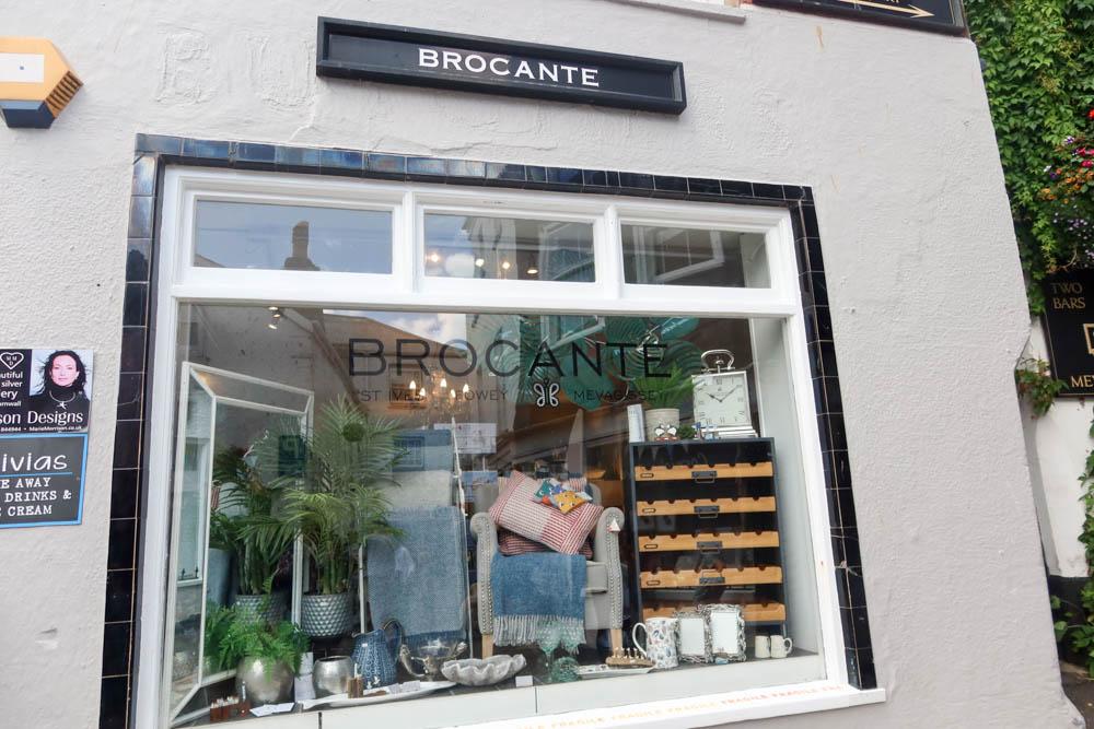 Brocante vintage shop