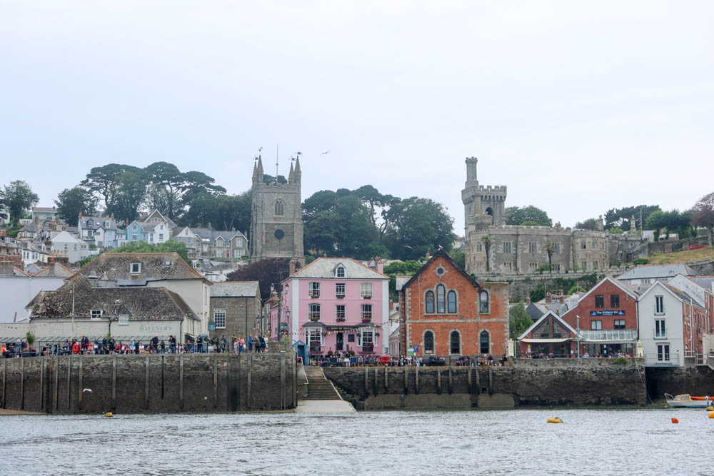 Fowey from the sea