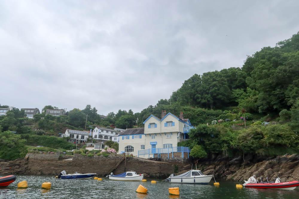 Daphne Du Maurier's House on a Fowey River Cruise