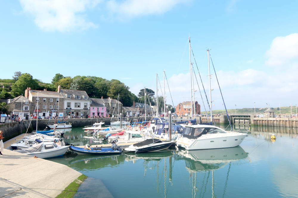Padstow Harbour in North Cornwall