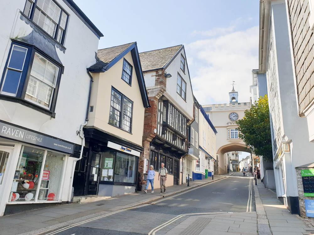 Fore Street in Totnes