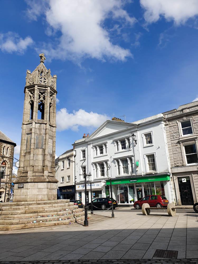 Launceston town centre