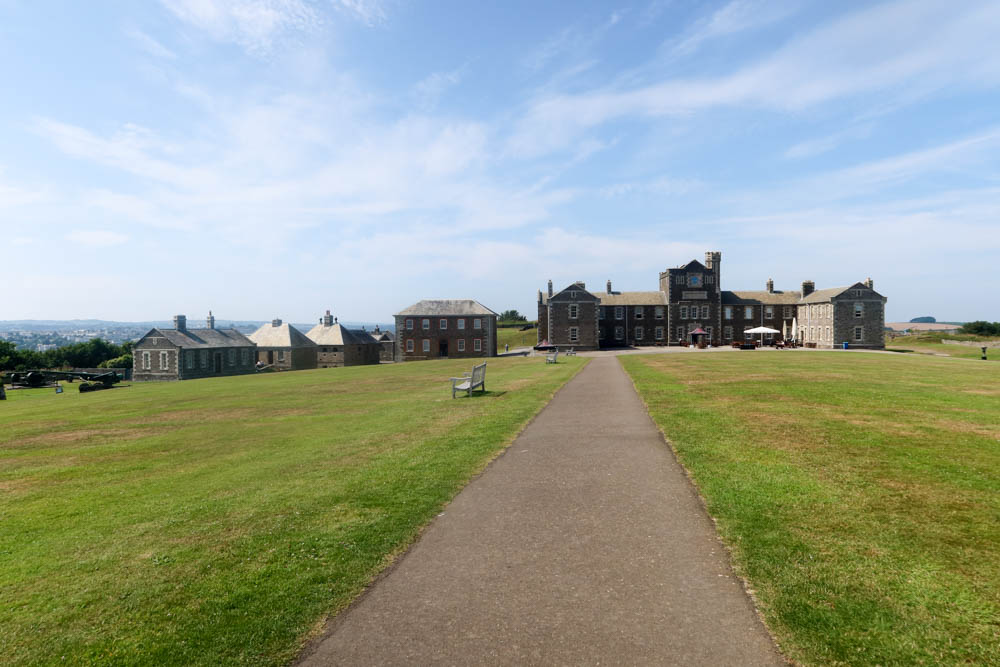 Pendennis Castle buildings