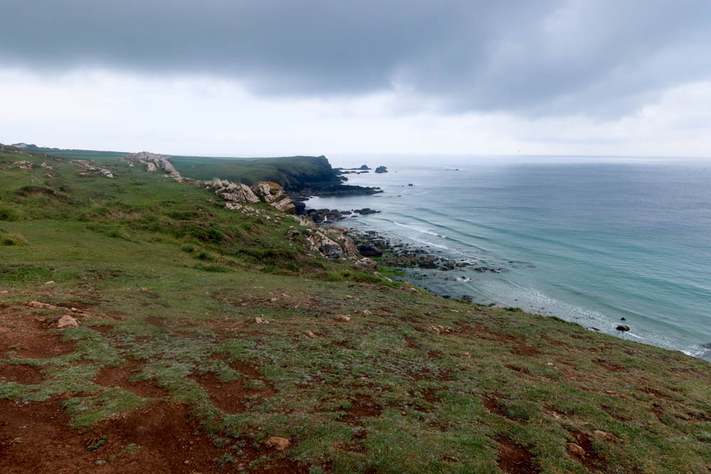 Walking from Lizard Point to Kynance Cove