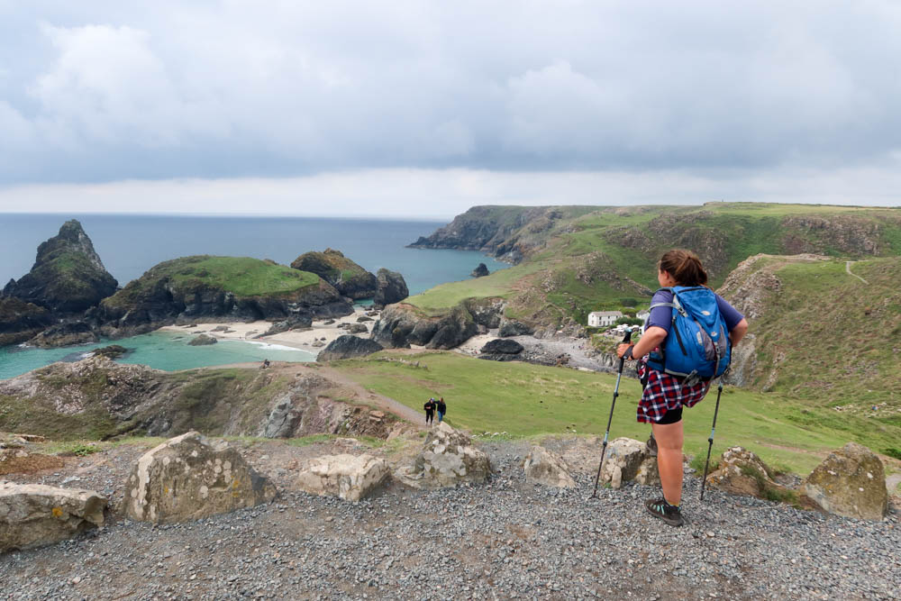 Looking out over Kynance Cove